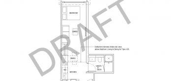 irwell-hill-residences-draft-floor-plans-studio-type-a1-singapore